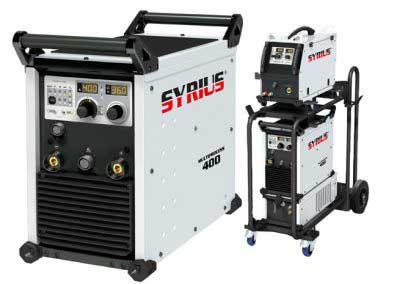 SYRIUS MULTIPROCESS 400 A CC/CV többfunkciós hegesztőgép