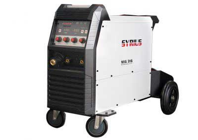 SYRIUS MIG 316 MIG /MAG, MMA, TIG LIFT inverteres hegesztőgép