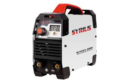 SYRIUS STICKY 200 (MMA) bevontelektródás hegesztőgép
