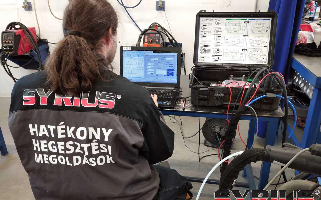 A KOLOZSI JÓZSEF KFT-nél végeztünk múlt héten hegesztéstechnikai biztonsági felülvizsgálatot és validálást a hegesztőgépeken.