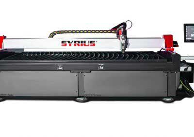 SYRIUS PROFICUT 1530 CNC finomsugaras plazmavágó asztal