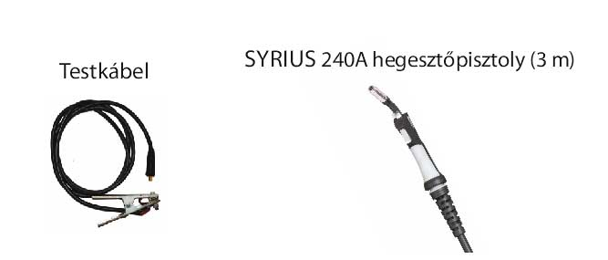 SYRIUS MIGPULSE 215 DPP MIG/MAG hegesztőgép