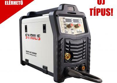 SYRIUS MIGPULSE 202 DP MIG/MAG fogyóelektródás hegesztőgép