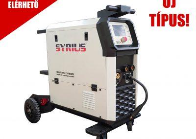SYRIUS MIGPULSE 352 DPL MIG/MAG, MMA, TIG LIFT szinergikus hegesztőgép
