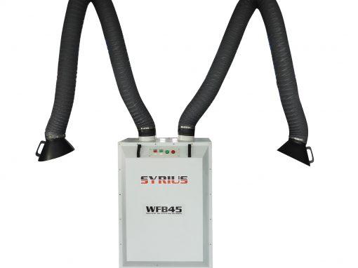SYRIUS WFB45 kétkaros elszívó berendezés