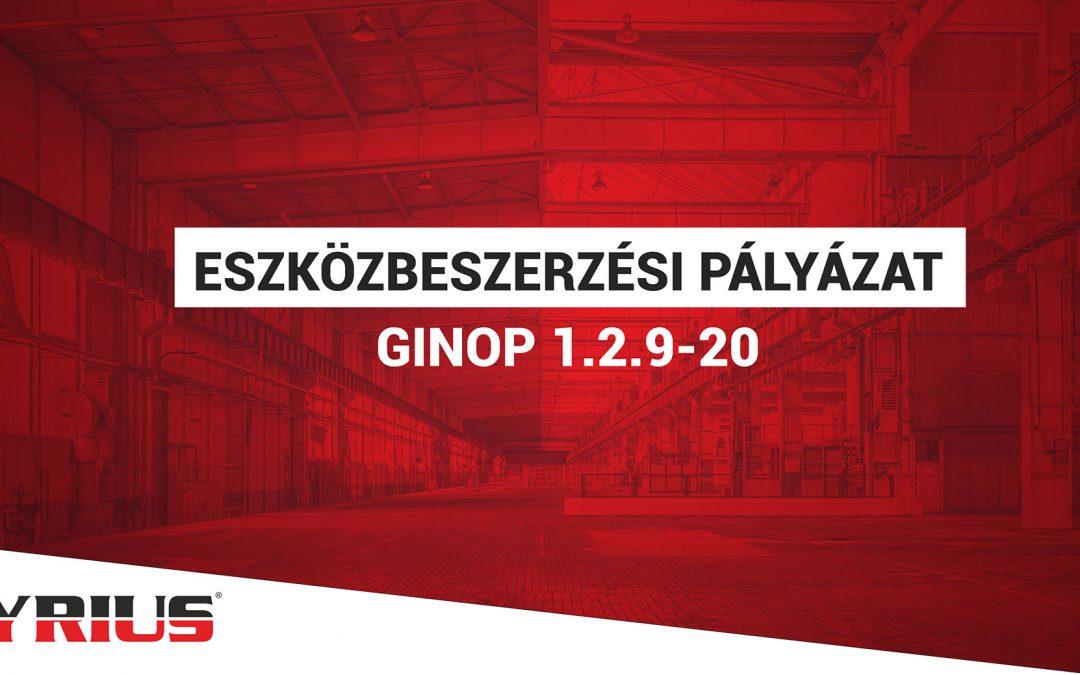 Pályázat egyéni vállalkozóknak – 2021-GINOP 1.2.9-20