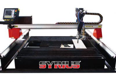 SYRIUS FLEXCUT CNC plazma és lángvágó asztal