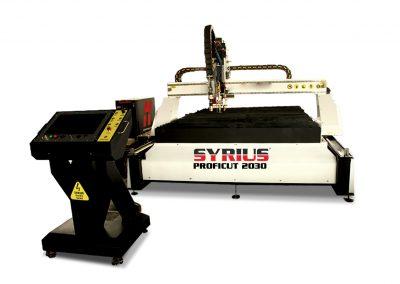 SYRIUS PROFICUT 2030 CNC finomsugaras plazmavágó és lángvágó asztal