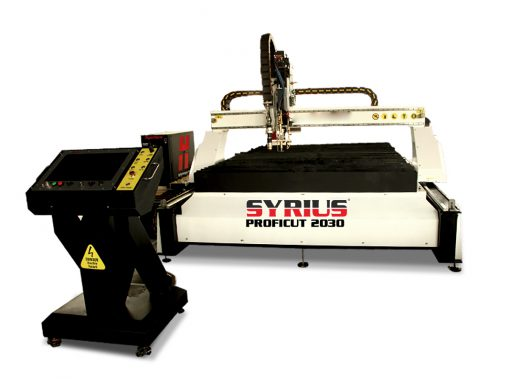 SYRIUS PROFICUT 2030 CNC plazmavágó asztal
