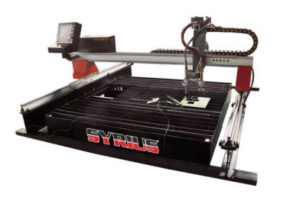 SYRIUS FLEXCUT CNC plazmavágó és lángvágó asztal