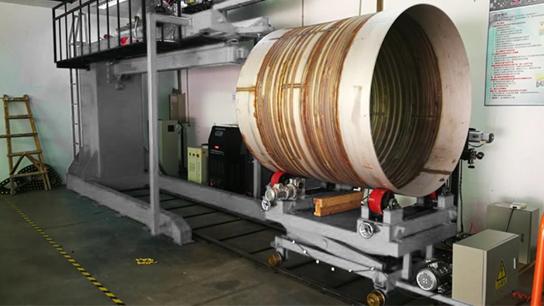 SYRIUS TANKWELD-1500 tartálypalást vonalhegesztő gép