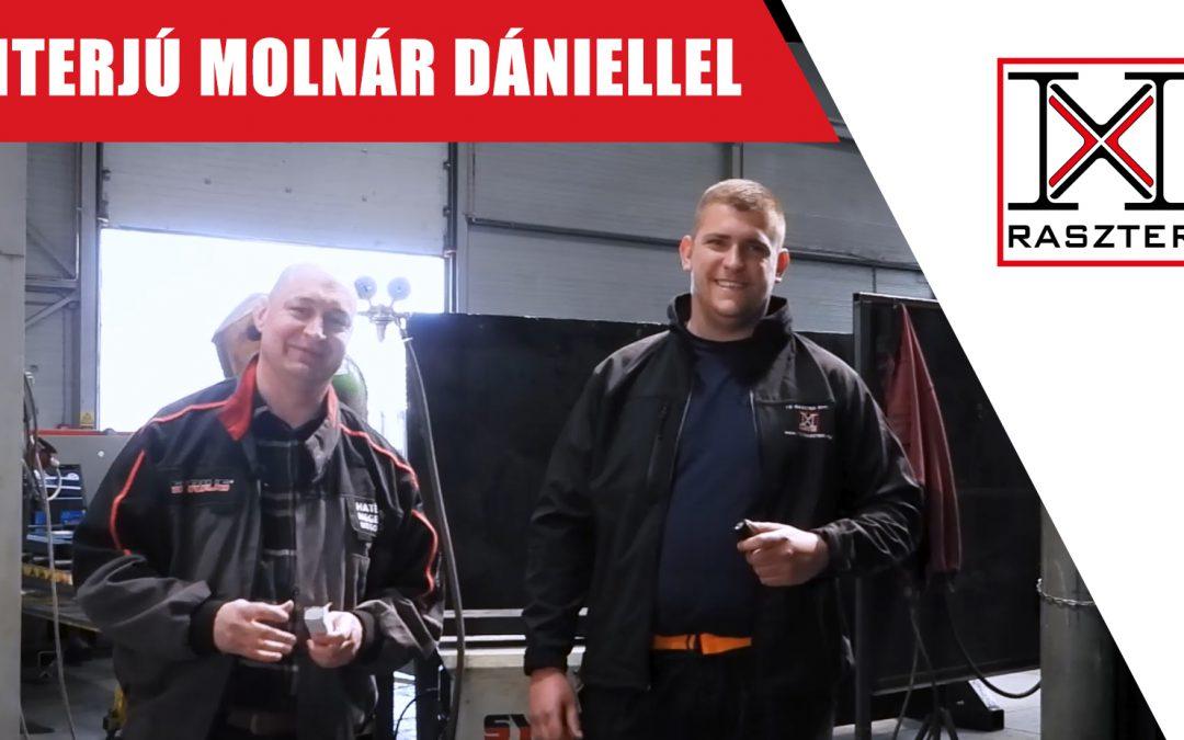 SYRIUS hegesztőgép vélemény és üzembehelyezés - SYRIUS MIGPULSE 352 DPL- Interjú Molnár Dániellel