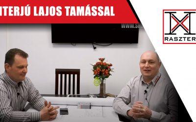 Hegesztőgép üzembehelyezés és interjú Lajos Tamással – 12 Raszter Kft.