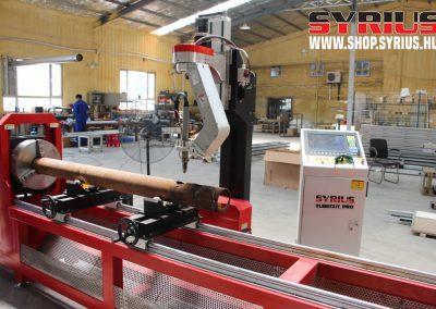 cnc plazmavágógép csövek és zártszelvények vágásához SYRIUS TUBECUT PRO