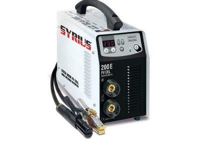 SYRIUS STICK 200 E FV CEL (MMA) bevontelektródás hegesztőgép